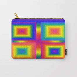 Bright squares 001 Carry-All Pouch