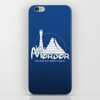 middle earth iPhone & iPod Skins featuring The Happiest Place in Middle Earth by famousafterdeath