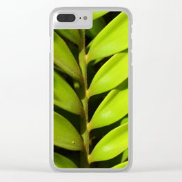 Vegetal balance Clear iPhone Case