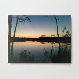 Lake Fred Metal Print