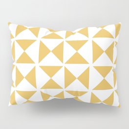 Mustard yellow Mid century Pillow Sham