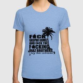 Scarface Pablo Escobar Drug Lord dealer Miami Vice cocaine yayo blu ray gun T-shirt