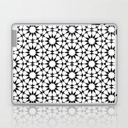 Arabesque in black and white Laptop & iPad Skin