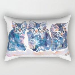 Crazy Quilt Kittens Rectangular Pillow