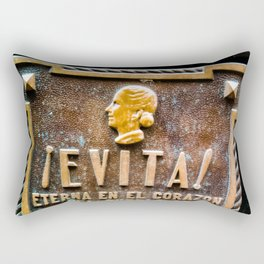 Evita Eva Peron Rectangular Pillow
