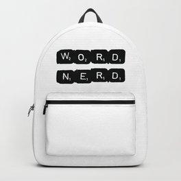 Word Nerd Backpack