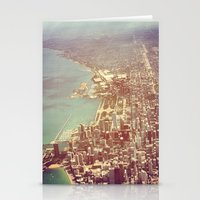 chicago Stationery Cards featuring Chicago by lizzy gray kitchens