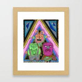 Scoundralz Framed Art Print