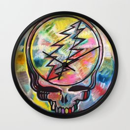 Cryptical Envelopment Wall Clock
