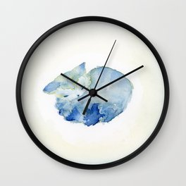 Molly Like A Cloud Wall Clock