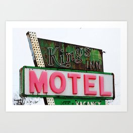 Kings Inn Art Print
