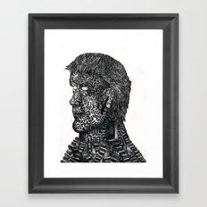 Maze ID Framed Art Print