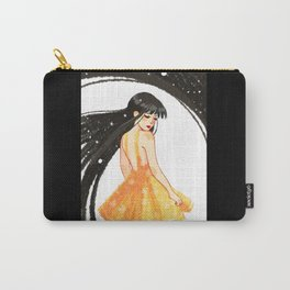 Yellow Sundress Carry-All Pouch