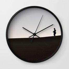 055 alone Wall Clock