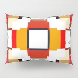 multicolored spatial geometric shellycoat Pillow Sham