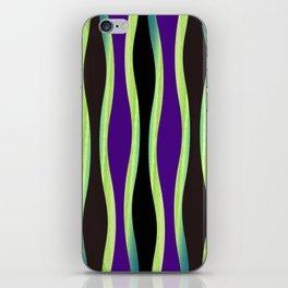 Vibration of Violet iPhone Skin