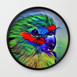 Parrot Parrot Wall Clock