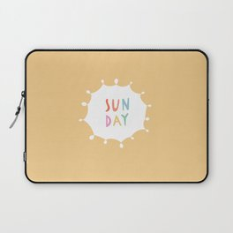 Sunday in Yellow Laptop Sleeve