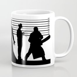 The Usual Horror Suspects Coffee Mug