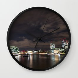 London by Night Wall Clock
