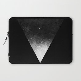 White Dot Triangle Laptop Sleeve