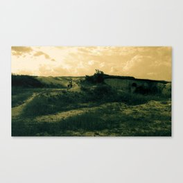 Hiking Across Ukraine Canvas Print