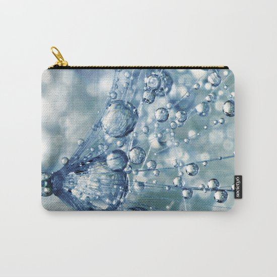 Sparkling Dandy in Blue Carry-All Pouch