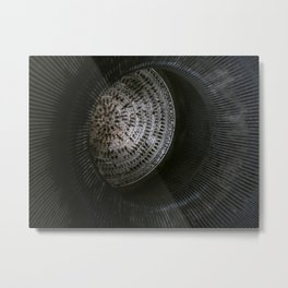 Silo Metal Print