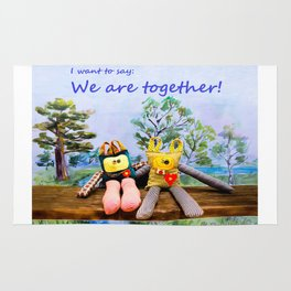We are togheter Rug