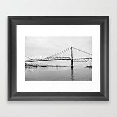 Puente Framed Art Print