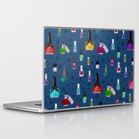 nail polish Laptop & iPad Skins featuring Fancy Nail Polish by Elisandra