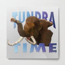 TUNDRA TIME Metal Print
