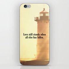 Love Still Stands iPhone & iPod Skin
