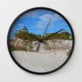 Dunes on Gasparilla II Wall Clock
