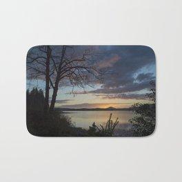 Lake Quinault Sunset, Washington Bath Mat