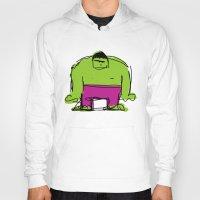 hulk Hoodies featuring Hulk by Remco Drijver