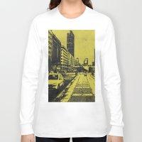 milan Long Sleeve T-shirts featuring Milan 2 by Anand Brai