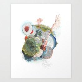 TURNING TIDES Art Print