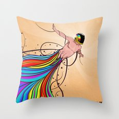 Fly C'mon! Throw Pillow