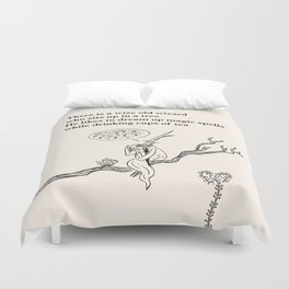 There Is a Wise Old Wizard Duvet Cover