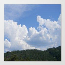 Beautiful Clouds Canvas Print