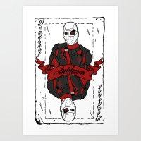 Antihero Art Print