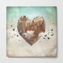 My Heart Is My Castle Metal Print