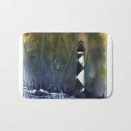 Cape Lookout lighthouse- Outer Banks, North Carolina Bath Mat