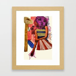 Cocktail Party Framed Art Print