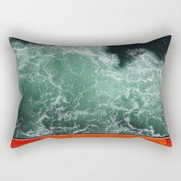 Life Boat Rectangular Pillow