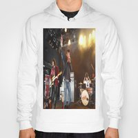 arctic monkeys Hoodies featuring Arctic Monkeys in Williamsburg, New York by The Electric Blue / Yen-Hsiang Liang (Gr
