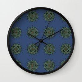 Himalayan Candy Blue - Mini Mandala Pattern Wall Clock