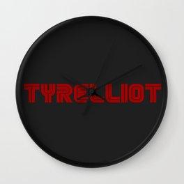 Tyrelliot Typography Wall Clock