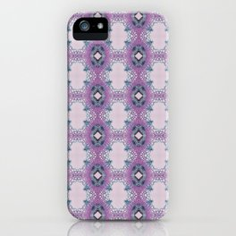 Arabidopsis flower stem microscopy pattern pink iPhone Case